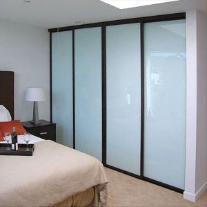 Tempered Frosted Glass Sliding Door with AS/NZS2208: 1996, BS6206, En12150 Certificate pictures & photos