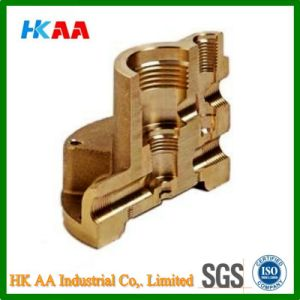 Custom High Precision CNC Machining, Brass Machining Parts with Nickel Plated pictures & photos