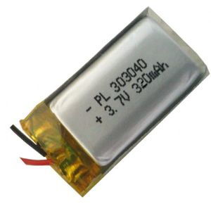 Bluetooth Li-Polymer Battery 3.7V 320mAh