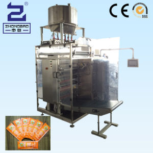 Mcdonald Ketchup Four-Side Sealing & Multi-Line Packing Machine (DXDO-J900E) pictures & photos