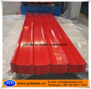 Trapezoidal Color Corrugated Roofing Sheet pictures & photos