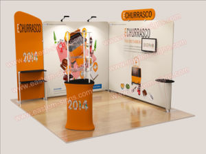 10 Ft Easy to Stall Custom Trade Show Exhibitions Booth