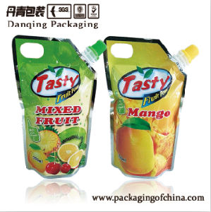 Juice Pouch, Stand up Pouch, Packaging, Nozzle Pouch, Pouch with Spout pictures & photos