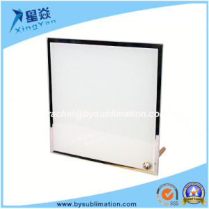 High Quality Square Glass Frame with Stand pictures & photos