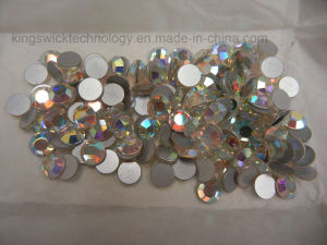 1440PCS 4mm Flatback Crystal Aurore Boreale Ss16 Clear No Hotfix pictures & photos