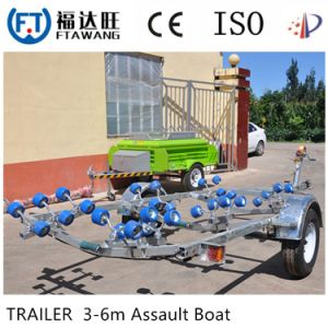 Heavy Duty Galvanizing Transport Trailer Yacht Trailer Motor Boat Trailer pictures & photos