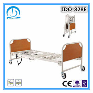 CE ISO Certification Electric Folding Hospital Bed pictures & photos