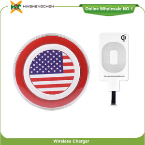 National Flag Sign Wireless Charger for iPhone and Android pictures & photos