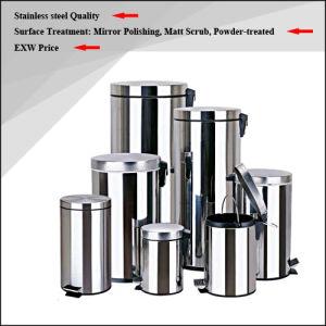 High Quality Stainless Steel Waste Bin / Dust Bin / Trash Bin / Rubbish Bin (3L/5L)