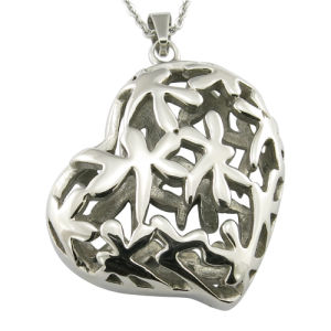 Sweet Heart Hollow Stainless Steel Metal Fashion Garment Accessories pictures & photos