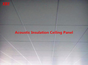 Acoustic Insulation Ceiling Panel Ceiling Panel of 600*600 pictures & photos