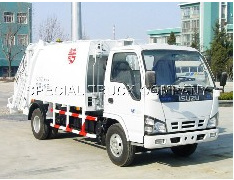 HOWO Garbage Truck 4*2 6m3 (QDZ5070ZYSI) pictures & photos