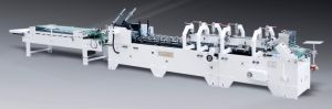 High Speed Pre-Fold Cardboard Box Folding Gluing Machine (GK-650BA) pictures & photos