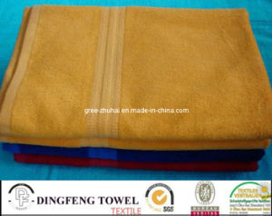 Nature 70%Bamboo and 30% Cotton Towel pictures & photos