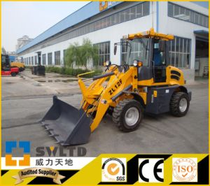 1200kg Rate Load Small Wheel Loader with CE pictures & photos