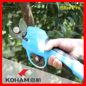 Koham Tools 300W Motor Power Lemon Trees Loppers Electric Secateurs Electronic Pruners Lithium Battery Pruning Shears Bypass Handheld Trimmers pictures & photos