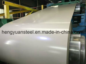 Milky White Color Coated Galvanized Steel Coil PPGI Steel Strip pictures & photos