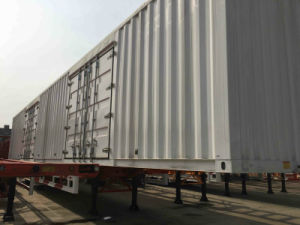Tri-Axle 40-80 Ton Van-Type Cargo Semi-Trailer pictures & photos