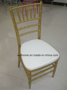 Gold Resin Chiavari Chair for Wedding/Event pictures & photos