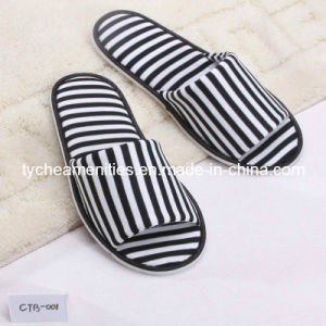 Terry Luxury Hotel Disposable Slippers (ty-SL-0003)