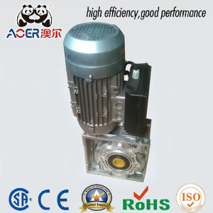 AC Warm Three Phase Electric Motor with Reduction Gear pictures & photos