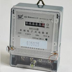 Single Phase Bi-Circuit Anti-Tamper Electronic Energy Meter pictures & photos