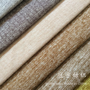 Compound Linen Fabric for Sofa Polyester and Nylon pictures & photos