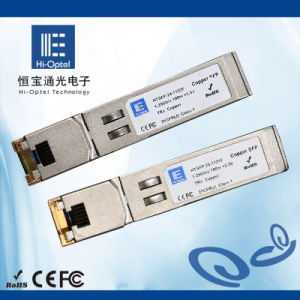 Copper SFP Transceiver 1.25G Module pictures & photos