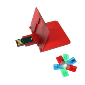 Promotional Card-Shaped USB Flash Disks pictures & photos