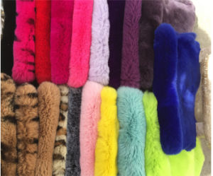 Real Rex Rabbit Fur Plate /Blanket Factory Wholesale pictures & photos