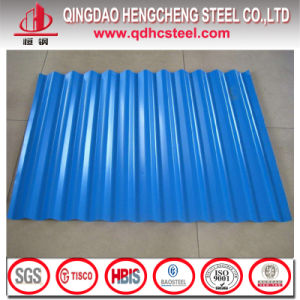 Prepainted Corrugated Iron Sheet Zinc Coated Roofing Sheet pictures & photos