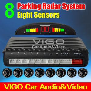 Car Parking Radar System for Rear and Front