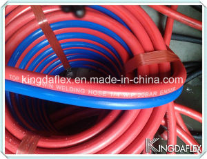 Industrial Hose High Temperature Flexible Twin Line Welding Hose pictures & photos