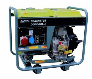 50Hz 1phase 6kw Air Cooled Diesel Generator/Diesel Generating Set pictures & photos