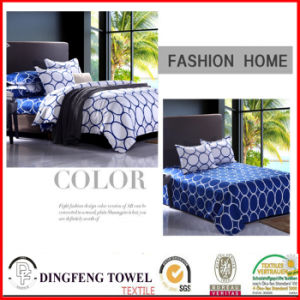 100% Cotton Reactive Printed Bed Sets df-8919 pictures & photos