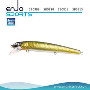 Minnow Fishing Bait Shallow Fishing Tackle Lure with Vmc Treble Hooks pictures & photos