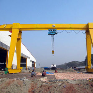 Box Girder 5t Gantry Crane for Steel Coils pictures & photos