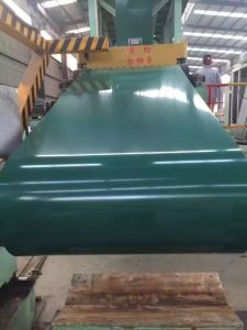 Q235 Roofing Material Pre-Painted Galvalume Steel Coil PPGL pictures & photos
