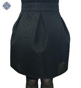 Ladies Fashion Polyester Pleated Tutu Skirt (LDS-32)