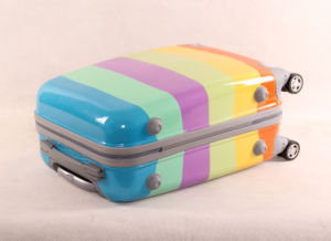 Colorful Printing Fashionable Best Lightweight Travel Luggage Hard Shell Carry on PC Luggage pictures & photos