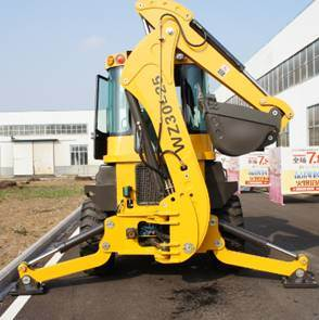 Backhoe Wz30-25 Wheel Loader Yineng pictures & photos