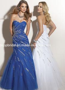 Tulle a-Line Evening Dress (EV0048)