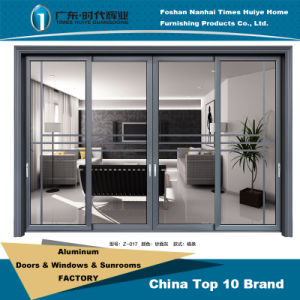 Aluminum/Aluminium Hanging Sliding Door Model Z-017 pictures & photos
