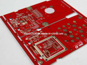 2017 High Quality Red Soldermask Immersion Gold PCB pictures & photos