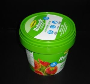 1.2L Plastic Bucket Food Grade