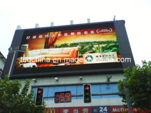 Commercial Advertising Video Electronic Billboard pictures & photos