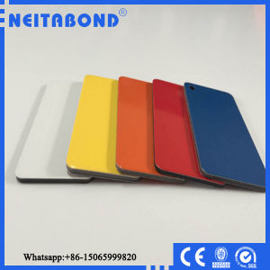 4mm Unbreakable LDPE Core PVDF Coated Aluminum Composite Panel for Project pictures & photos