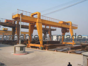 Double Beam Gantry Crane (MG120T-32M-22M) pictures & photos