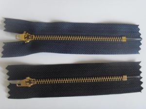 China Metal Zipper for Y Teeth Type (3# brass) pictures & photos