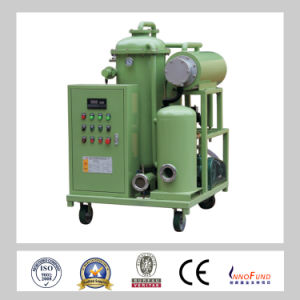 High Viscosity Lubricating Oil Filtration Machine, Vacuum Oil Purifier Series (GZL) pictures & photos